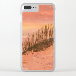 Clearwater Sand Dunes Clear iPhone Case