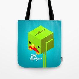 Un Quetzal 3D Tote Bag
