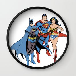 Justice Trio Wall Clock