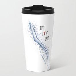 Skaneateles Live Love Lake Travel Mug