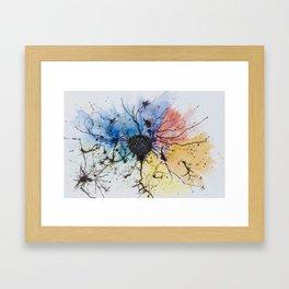 Chroma color Framed Art Print