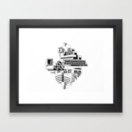 Abstract Architecture (Landscape) Framed Art Print