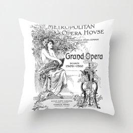 Metropolitan Opera House Throw Pillow