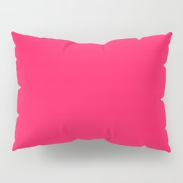 DIVA PINK energizing neon color  Pillow Sham