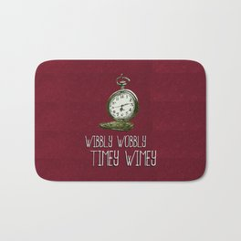 Doctor Who: Time is Wibbly Wobbly Timey Wimey Bath Mat