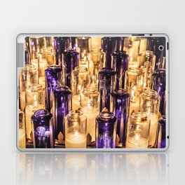 Cathedral Candles Laptop & iPad Skin