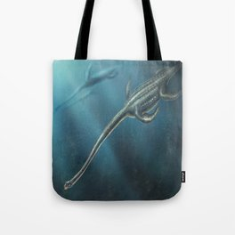 Elasmosaurus Restored Tote Bag