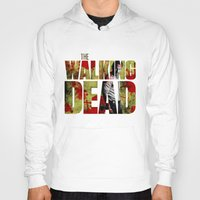 rick grimes Hoodies featuring Rick Grimes Sacrifice and blood by Pablo Napo