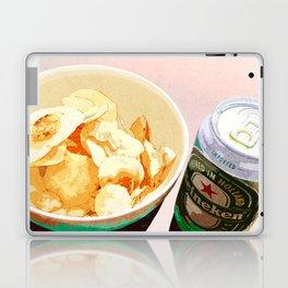 Potato chips and Heineken Laptop & iPad Skin