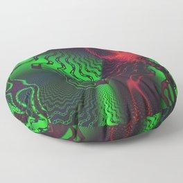 Toxic Neon Floor Pillow
