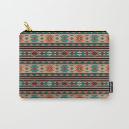 Southwest Design Turquoise Terracotta Carry-All Pouch