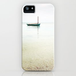 Moored / Beach Photography iPhone Case