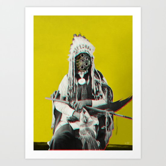 Indian Pop 70 Art Print