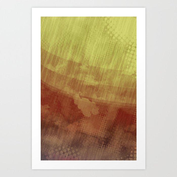 Halftone Australis Art Print