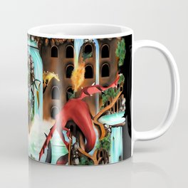 City of Dragons Coffee Mug