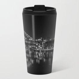 Newcastle Quayside Metal Travel Mug