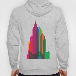 Shapes of Philadelphia accurate to scale Hoody