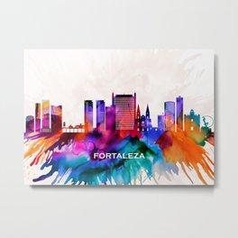 Fortaleza Skyline Metal Print