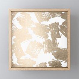 Metro Gold Framed Mini Art Print
