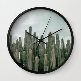 Cactus Jungle Wall Clock