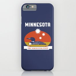 Minnesota - Redesigning The States Series iPhone Case