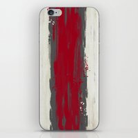 racing iPhone & iPod Skins featuring Racing Stripe by Eye Opening Design