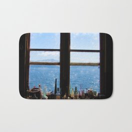 Window to the Water Bath Mat