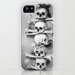 Sedlec Ossuary, Kutna Hora, Czech Republic. iPhone Case