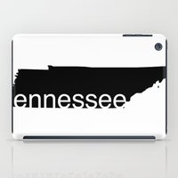tennessee iPad Cases featuring Tennessee by Isabel Moreno-Garcia