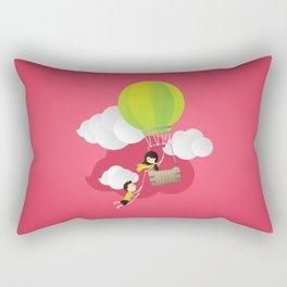 for the adventure of love Rectangular Pillow