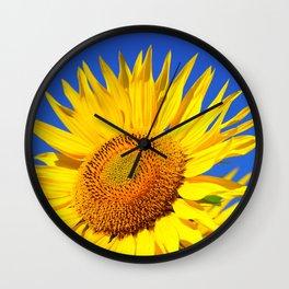 Sun Flower Wall Clock