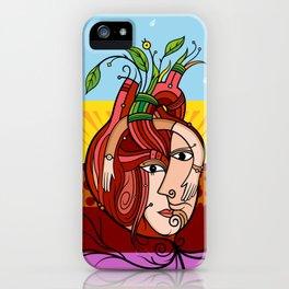 Corazón iPhone Case