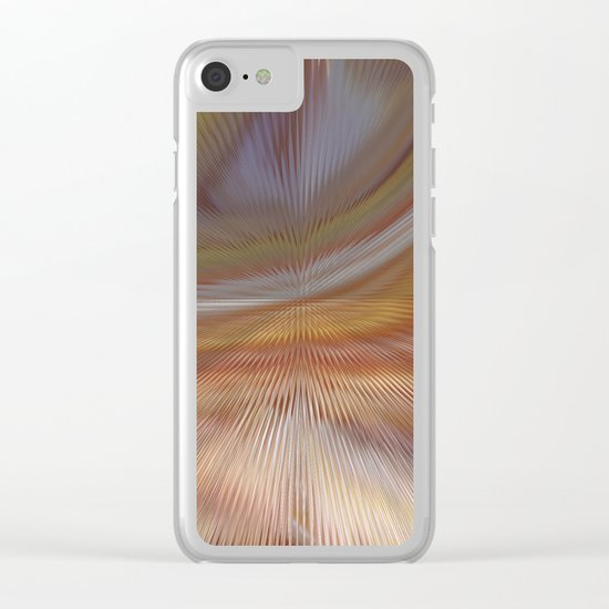 Abstract 275 Clear iPhone Case