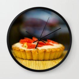 Tartelette aux Fraises Wall Clock