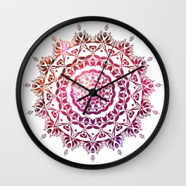 Mandala 1 Wall Clock