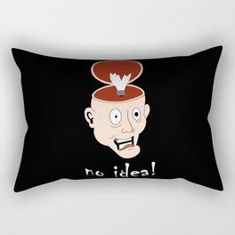 No idea Rectangular Pillow