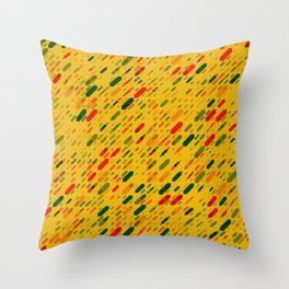 Diagonal arrows Throw Pillow