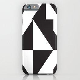 losanges noirs iPhone Case