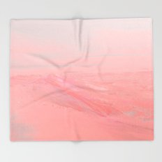 CHEMIN ROSE Throw Blanket