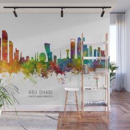 Abu Dhabi Skyline Wall Mural