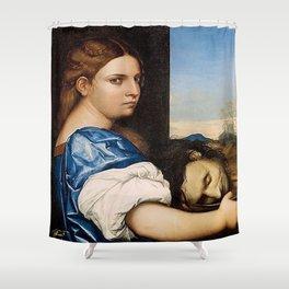 Salome - Sebastiano del Piombo Shower Curtain