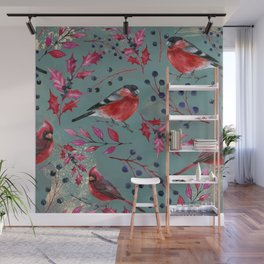 Winter Bird 6 Wall Mural