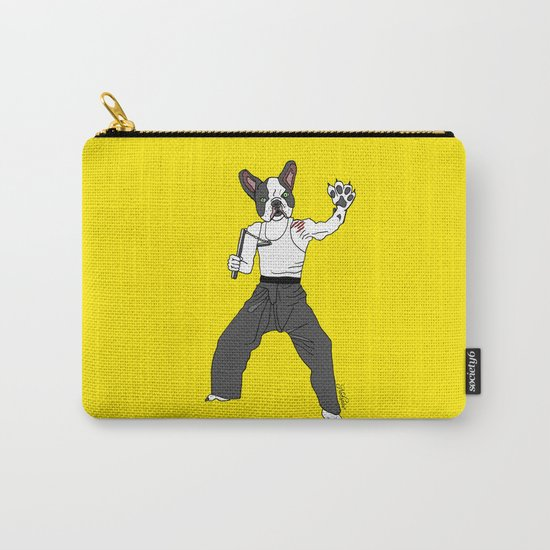Kungfu Bulldog Lee Carry-All Pouch
