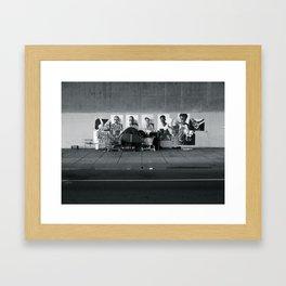 Homeless Framed Art Print