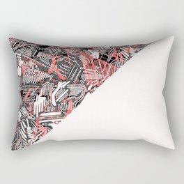 Half and Half Rectangular Pillow