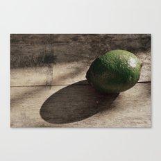 Still Life- Lime Canvas Print