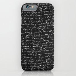 Paint Texture Surface 68 iPhone Case