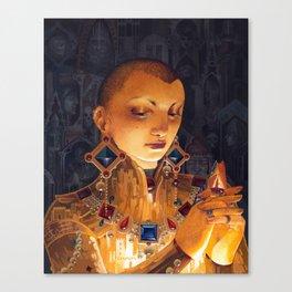 Covetous Canvas Print