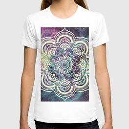Galaxy Mandala : Deep Pastels T-shirt