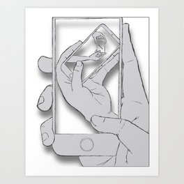 iFail Silver (Picture This!) Art Print